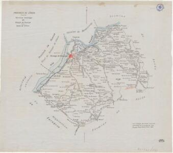 Mapa planimètric de la Granja d'Escarp