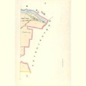 Gross Hitschitz (Welky Hičice) - c8425-1-002 - Kaiserpflichtexemplar der Landkarten des stabilen Katasters