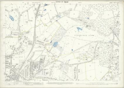 London (Edition of 1894-96) CXLVIII (includes: Bromley) - 25 Inch Map