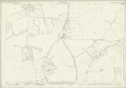 Hertfordshire VIII.10 (includes: Clothall; Rushden; Sandon; Wallington) - 25 Inch Map