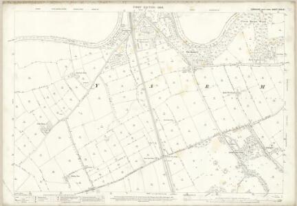 Yorkshire XXVII.3 (includes: Aislaby; Castle Leavington; Egglescliffe; Kirk Leavington; Yarm) - 25 Inch Map