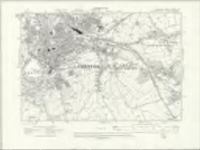Cheshire XXXVIII.SE - OS Six-Inch Map