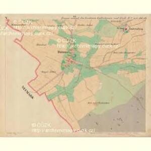 Donau - c1755-1-005 - Kaiserpflichtexemplar der Landkarten des stabilen Katasters