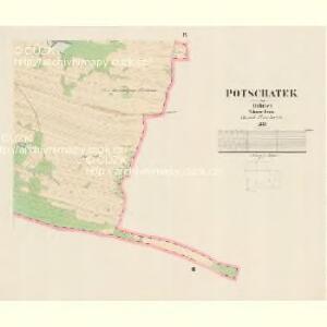 Potschatek - c5868-1-008 - Kaiserpflichtexemplar der Landkarten des stabilen Katasters