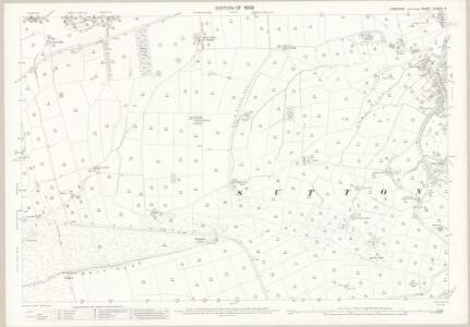 Yorkshire CLXXXV.9 (includes: Cowling; Sutton) - 25 Inch Map