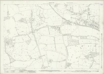 Surrey XXXIX.10 (includes: Alfold; Cranleigh) - 25 Inch Map