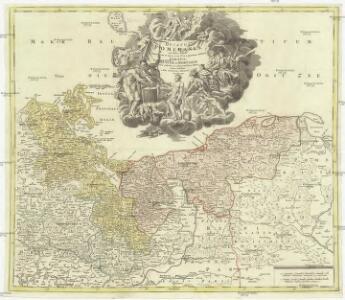 Ducatus Pomeraniae novißima tabula