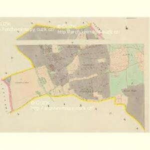 Dobraken - c1456-1-004 - Kaiserpflichtexemplar der Landkarten des stabilen Katasters