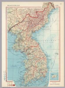 Korea.  Pergamon World Atlas.