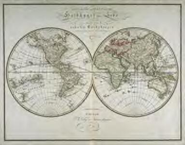 Œstliche und westliche Halbkugel der Erde