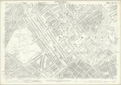 London (Edition of 1894-96) XLVIII (includes: Paddington; St Marylebone) - 25 Inch Map