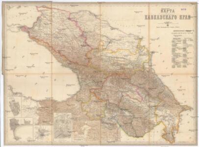 Karta Kavkazskago kraja