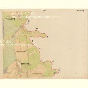 Pernek - c5699-1-016 - Kaiserpflichtexemplar der Landkarten des stabilen Katasters