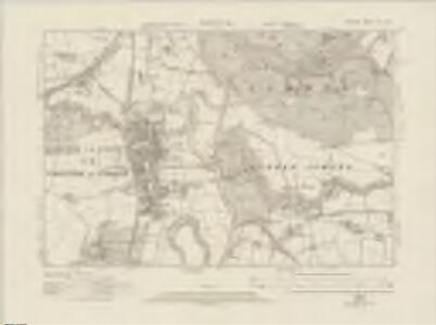 Durham XIII.SW - OS Six-Inch Map