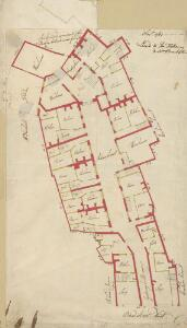 A Plan of Adams Court on the west side of Broad Street