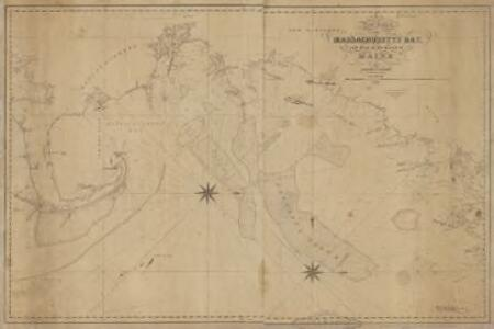 A new chart of Massachusetts Bay, and part of the coast of Maine : drawn from the latest authorities