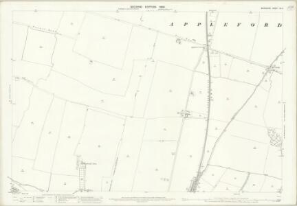 Berkshire XV.3 (includes: Appleford; Didcot; Long Wittenham; Sutton Courtenay) - 25 Inch Map