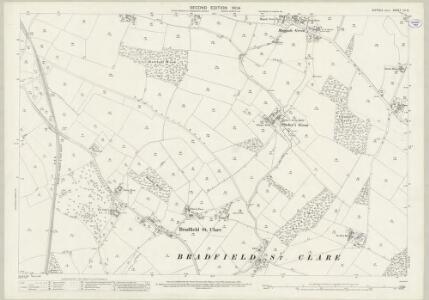 Suffolk LV.5 (includes: Bradfield Combust; Bradfield St Clare; Bradfield St George; Great Welnetham; Little Welnetham) - 25 Inch Map