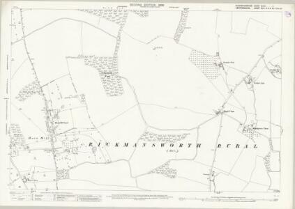 Buckinghamshire XLVIII.4 (includes: Rickmansworth Urban) - 25 Inch Map