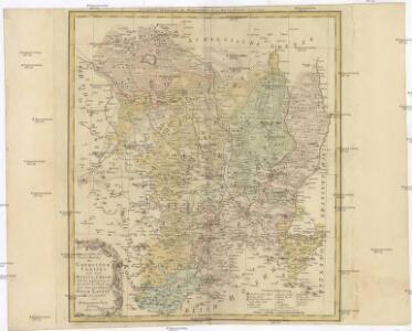 Geographische Verzeichnung des GOERLIZER CREISES mit dem QVEISS-CREISE welches zusammen ist der Ostliche Theil von dem Marggrafthum OBER LAVSITZ