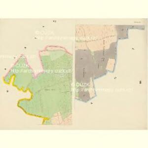 Dobrzan (Dobřany) - c1202-1-006 - Kaiserpflichtexemplar der Landkarten des stabilen Katasters