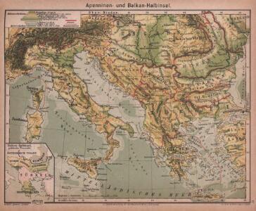 Apenninen- und Balkan-Halbinsel