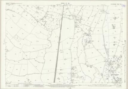 Staffordshire XLIV.7 (includes: Acton Trussell And Bednall; Castle Church; Coppenhall; Dunston) - 25 Inch Map