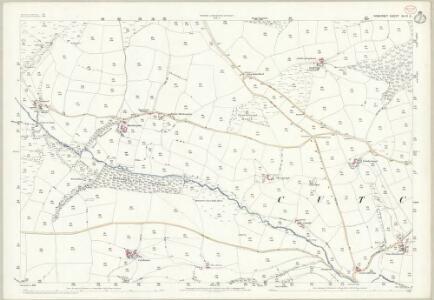 Somerset XLVI.6 (includes: Cutcombe) - 25 Inch Map