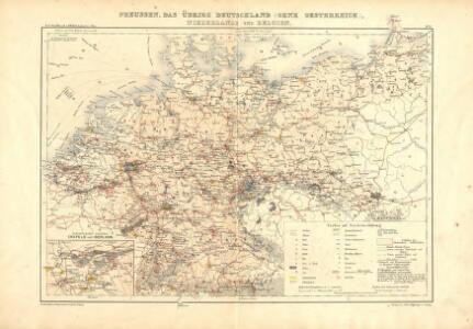Atlas für Industrie- und Handelsgeographie: Für commercielle und technische Lehranstalten, für Kaufleute und Industrielle