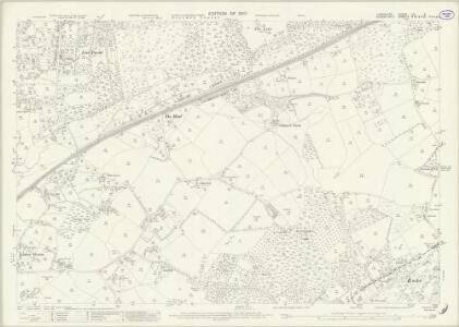 Hampshire and Isle of Wight LIII.2 (includes: Greatham; Liss; Rogate) - 25 Inch Map