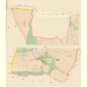 Spule (Spula) - c7183-1-002 - Kaiserpflichtexemplar der Landkarten des stabilen Katasters