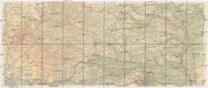 Hölzels Strassen-Karte von Österreich für Automobilisten und Radfahrer