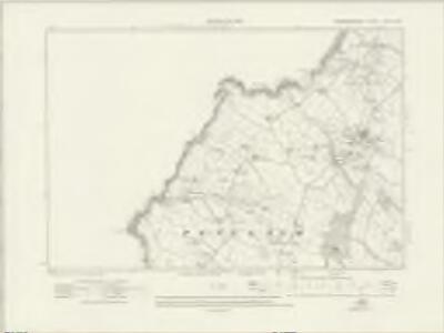 Caernarvonshire XXXIX.NW - OS Six-Inch Map
