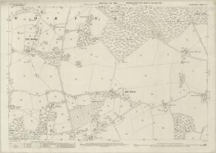 Oxfordshire LV.4 (includes: Goring; Whitchurch) - 25 Inch Map