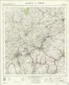 Blackburn and Burnley - OS One-Inch Map