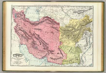 Persia, Afghanistan, Baluchistan.