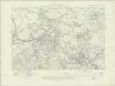 Caernarvonshire XII.NW - OS Six-Inch Map