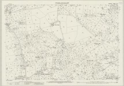 Cornwall LVI.15 (includes: Camborne Redruth; St Agnes) - 25 Inch Map