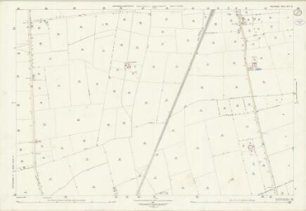 Lincolnshire XLV.16 (includes: Buslingthorpe; Linwood; Market Rasen; Middle Rasen) - 25 Inch Map