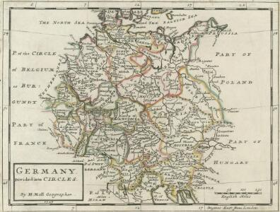 Germany Divided into Circles