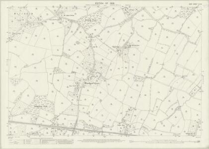 Kent LII.15 (includes: Marden; Staplehurst) - 25 Inch Map