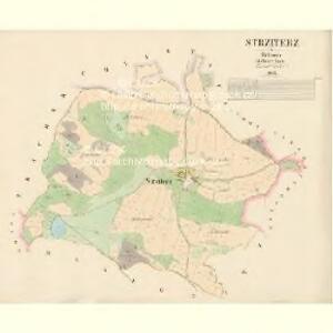 Strziterz - c7477-1-001 - Kaiserpflichtexemplar der Landkarten des stabilen Katasters