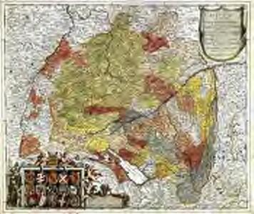 Circulus Suevicus in quo sunt ducatus Wirtenbergensis