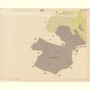Pernek - c5699-1-017 - Kaiserpflichtexemplar der Landkarten des stabilen Katasters