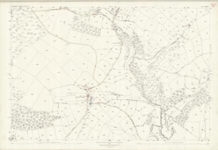 Shropshire LXXVI.4 (includes: Clun; Clunbury; Hopton Castle) - 25 Inch Map