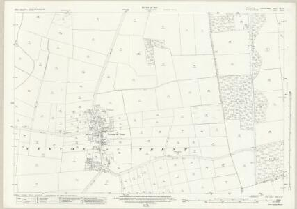 Lincolnshire LX.13 (includes: Kettlethorpe; Newton on Trent; Thorney) - 25 Inch Map