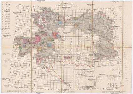 Übersichts-Blatt zur Spezial-Karte der österr[eichisch] ung[arischen] Monarchie