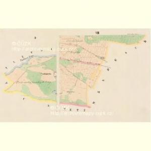 Ellischau (Malzow) - c4961-1-002 - Kaiserpflichtexemplar der Landkarten des stabilen Katasters