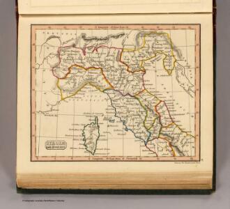 Italiae pars borealis.