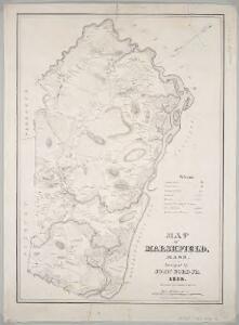 Map of Marshfield, Mass